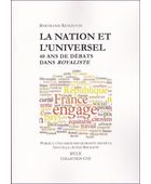 La nation et l'universel | La Nouvelle Action Royaliste