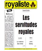 Les servitudes royales | La Nouvelle Action Royaliste