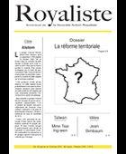 La réforme territoriale | La Nouvelle Action Royaliste