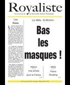 Bas les masques ! | La Nouvelle Action Royaliste
