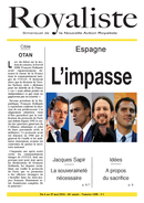 Espagne : l'impasse | La Nouvelle Action Royaliste