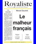 Le malheur français | La Nouvelle Action Royaliste