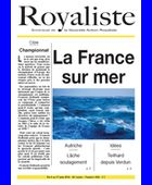 La France sur mer | La Nouvelle Action Royaliste