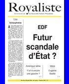 EDF - Futur scandale d'État | La Nouvelle Action Royaliste