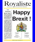 Happy Brexit ! | La Nouvelle Action Royaliste
