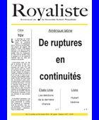 De ruptures en continuités | La Nouvelle Action Royaliste