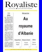 Au royaume d'Albanie | La Nouvelle Action Royaliste