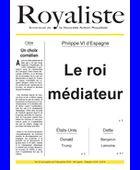 Le roi médiateur | La Nouvelle Action Royaliste