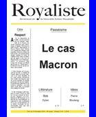 Le cas Macron | La Nouvelle Action Royaliste