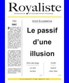 Le passif d'une illusion  | La Nouvelle Action Royaliste