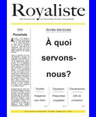 A quoi servons-nous ? | La Nouvelle Action Royaliste