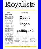 Quelle leçon politique ? | La Nouvelle Action Royaliste