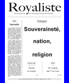 Souveraineté, nation, religion  | La Nouvelle Action Royaliste