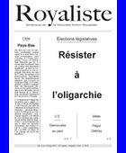 Résister à l'oligarchie | La Nouvelle Action Royaliste