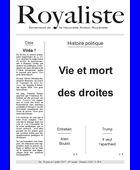 Vie et mort des droites | La Nouvelle Action Royaliste