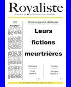 Leurs fictions meurtrières | La Nouvelle Action Royaliste