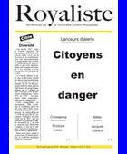 Citoyens en danger | La Nouvelle Action Royaliste