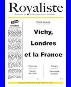 Vichy, Londres et le France | La Nouvelle Action Royaliste