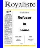 Refuser la haine | La Nouvelle Action Royaliste