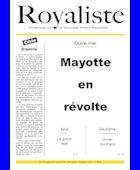 Mayotte en révolte | La Nouvelle Action Royaliste