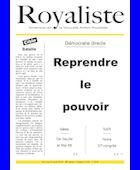 Reprendre le pouvoir | La Nouvelle Action Royaliste