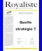 Quelle stragégie ? | La Nouvelle Action Royaliste