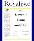 L'avenir d'une ambition  | La Nouvelle Action Royaliste