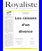 Les raisons d'un divorce | La Nouvelle Action Royaliste