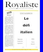 Le défi italien | La Nouvelle Action Royaliste