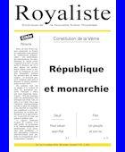 République et monarchie | La Nouvelle Action Royaliste