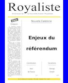 Enjeux du référendum | La Nouvelle Action Royaliste