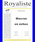 Gilets jaunes - Macron en échec | La Nouvelle Action Royaliste