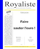 Faites sauter l'euro ! | La Nouvelle Action Royaliste