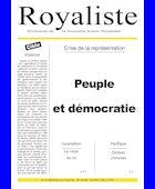 Peuple et démocratie | La Nouvelle Action Royaliste