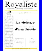 La violence d'une théorie | La Nouvelle Action Royaliste