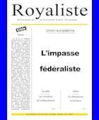 L'impasse fédéraliste | La Nouvelle Action Royaliste