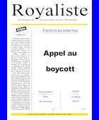 Appel au boycott | La boutique de la NAR