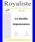 La double impuissance | La Nouvelle Action Royaliste
