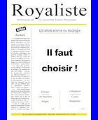 Il faut choisir ! | La Nouvelle Action Royaliste