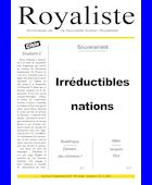 Irréductibles nations | La Nouvelle Action Royaliste