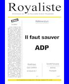 Référendum - Il faut sauver ADP | La Nouvelle Action Royaliste