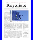 UE : le choc des intérêts nationaux | La Nouvelle Action Royaliste