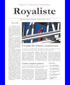 Un plan de relance, maintenant | La Nouvelle Action Royaliste