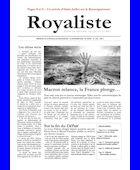 Macron relance, la France plonge... | La Nouvelle Action Royaliste