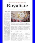 Pharmacie filière stratégique | La Nouvelle Action Royaliste