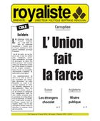 L'Union fait la farce | La Nouvelle Action Royaliste