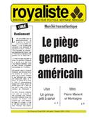Le piège germano-américain | La Nouvelle Action Royaliste