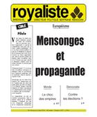 Mensonges et propagande | La Nouvelle Action Royaliste