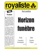 Parti socialiste : Horizon funèbre | La Nouvelle Action Royaliste