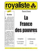 La France des pauvres | La Nouvelle Action Royaliste